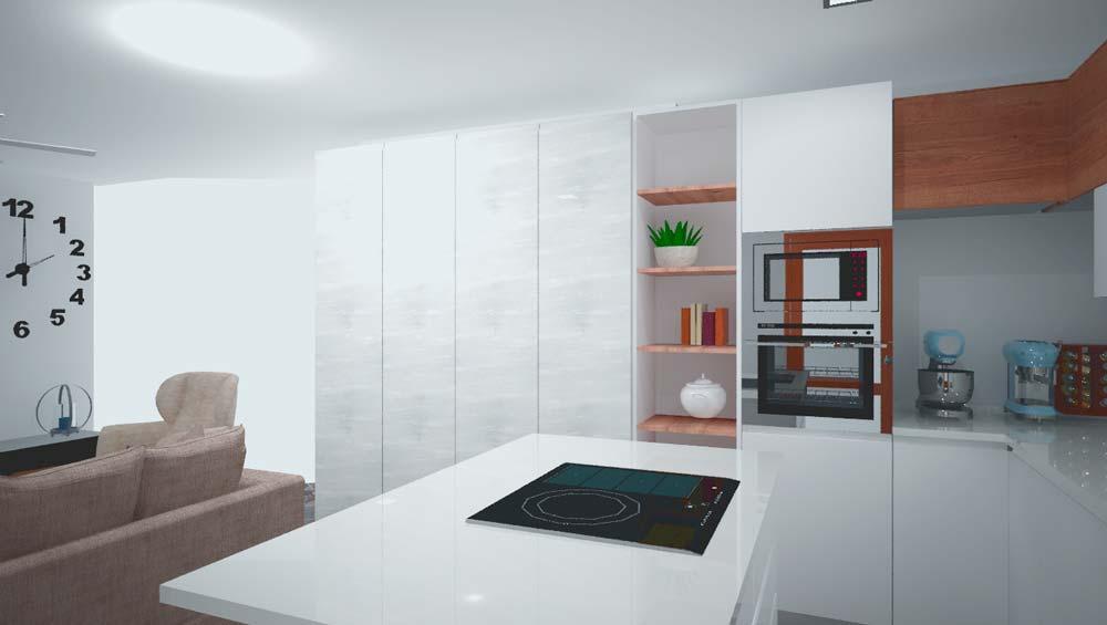 Muebles de cocina en Llodio Laudio Alava por Hurblan