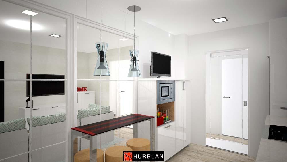 Muebles de cocina en Orduña Bizkaia por Hurblan