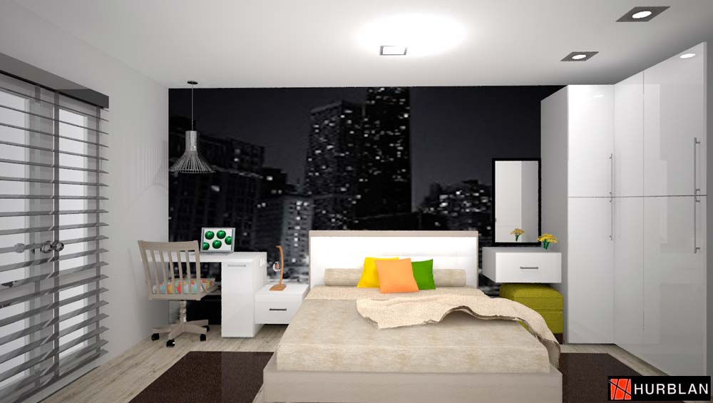 Habitación dormitorio en Llodio Laudio Hurblan